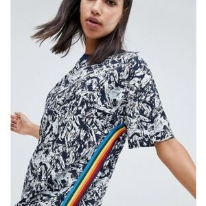 ASOS Noise May Print Dress - Medium